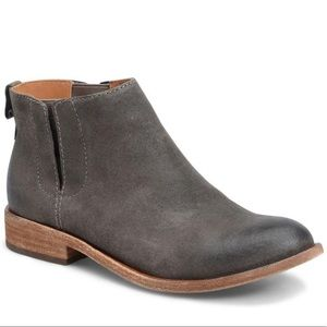 Korkease Velma Taupe Suede Ankle Booties Original